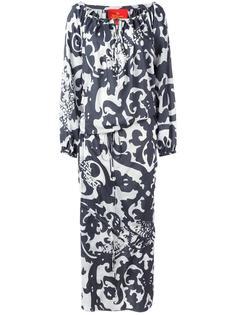 платье макси с узором арабеска Vivienne Westwood Red Label
