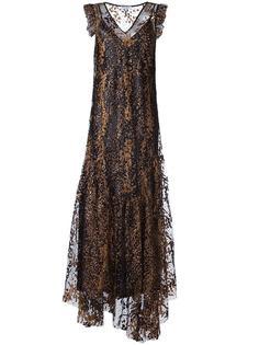 вечернее платье с блестящей отделкой Opening Ceremony