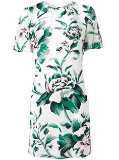 платье с цветочным принтом Burberry