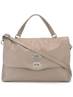 сумка-тоут с поворачивающейся застежкой Zanellato