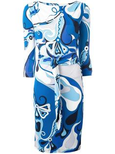abstract print dress Emilio Pucci Vintage