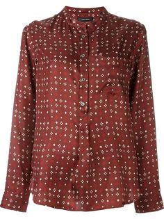 блузка с принтом  Isabel Marant