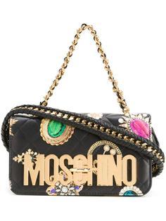 сумка на плечо с принтом Moschino