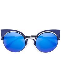 """солнцезащитные очки в оправе """"кошачий глаз"""" Fendi"""
