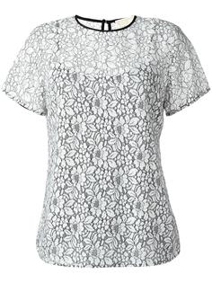 кружевная футболка Michael Michael Kors