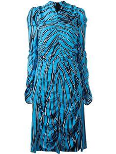 платье миди с принтом 'Trellis' Marni