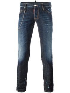 джинсы с цепочной окантовкой 'Clement' Dsquared2