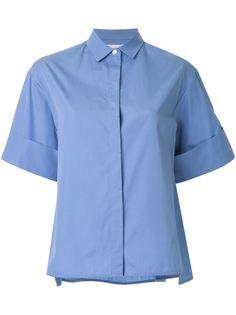 широкая рубашка А-образного силуэта Le Ciel Bleu