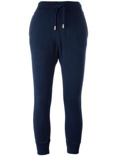 спортивные брюки с принтом стакана Dsquared2