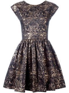 структурированное жаккардовое платье Kenzo