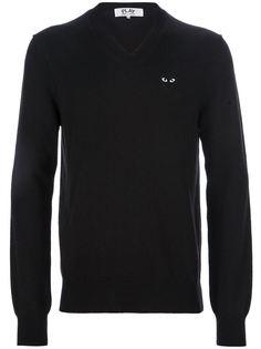 свитер с V-образной горловиной Comme Des Garçons Play