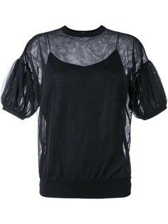 полупрозрачная блузка  Le Ciel Bleu