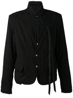 куртка с декоративной лентой Ann Demeulemeester