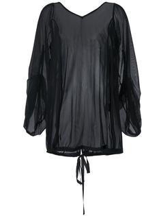 сетчатая блузка свободного кроя Assin