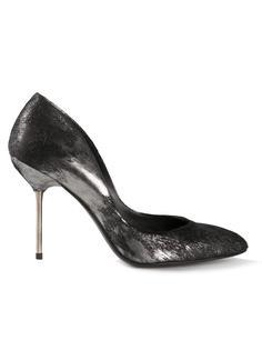 туфли 'Roxane' из ворса пони Pedro Garcia