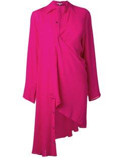 платье-рубашка Ann Demeulemeester Blanche