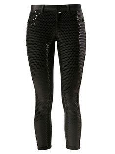 брюки с пайетками Junya Watanabe Comme Des Garçons