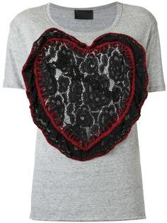 embroidered T-shirt Andrea Bogosian
