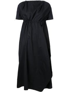 платье миди с драпировкой Assin