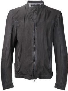 фактурная   куртка на молнии  Drome