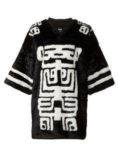 футболка 'Hooket' из искусственного меха KTZ