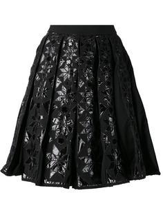 плиссированная юбка с принтом KTZ