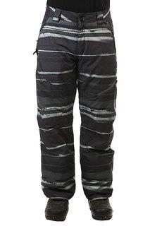Штаны сноубордические Oakley Motility Lite Pants Black Stripe