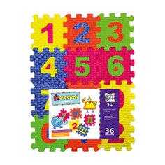 Пазлы с цифрами, 36 элементов Kribly Boo
