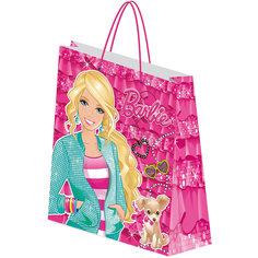 Пакет подарочный 28*34*9 см, Barbie Академия групп