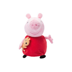 """Мягкая игрушка """"Пеппа с игрушкой"""", 40 см, Peppa Pig Росмэн"""