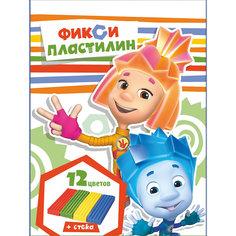 """Пластилин """"Фиксики"""" 12 цветов, 240 г Centrum"""