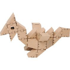 """Картонный конструктор """"Динозавр Птеро"""", Yohocube"""