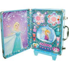 Игровой набор детской декоративной косметики в дорожном чемодане, Холодное сердце -