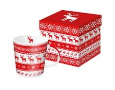 Кружка в подарочной коробке magic christmas Alessi
