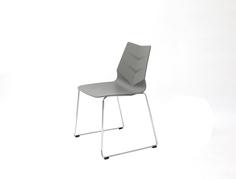 Стул LEAF-02 серый Europe Style