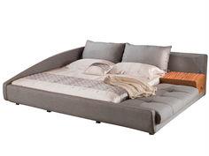 Кровать 1336 (180х200) серый Europe Style