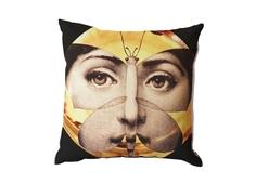 "Подушка с портретом Лины Пьеро Форназетти ""Butterfly"" DG"