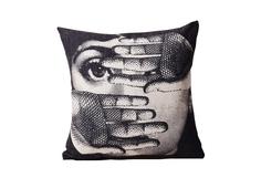 """Подушка с портретом Лины Пьеро Форназетти """"Fear"""" DG"""