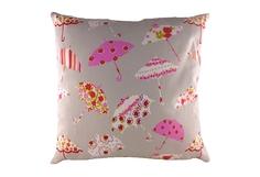 """Подушка с принтом """"Brollies Pink"""" DG"""