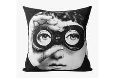 "Подушка с портретом Лины Пьеро Форназетти ""Spy"" DG"