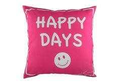 """Подушка с надписью """"Happy Days"""" DG"""