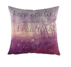 "Подушка с принтом ""Keep Smiling"" DG"