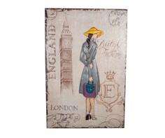 """Декоративное настенное панно """"London Girl"""" DG"""