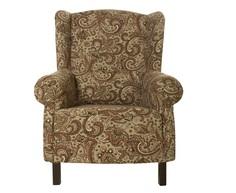 Кресло с восточным орнаментом La Neige