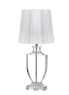 Настольная лампа (серебряный плафон) Garda Decor