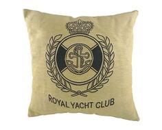 "Подушка с гербом Королевского ""Royal Yacht Club"" DG"
