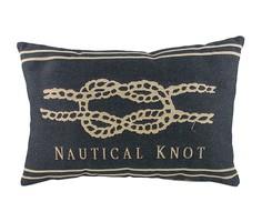 """Подушка с морским узлом """"Nautical Knot Denim"""" DG"""