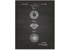 "Постер ""Diamond 1944"" Colibri"