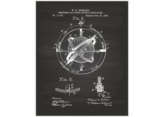 """Постер """"Nautical instrument 1895"""" Colibri"""