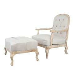"""Кресло и пуф """"Honesta"""" L Room"""